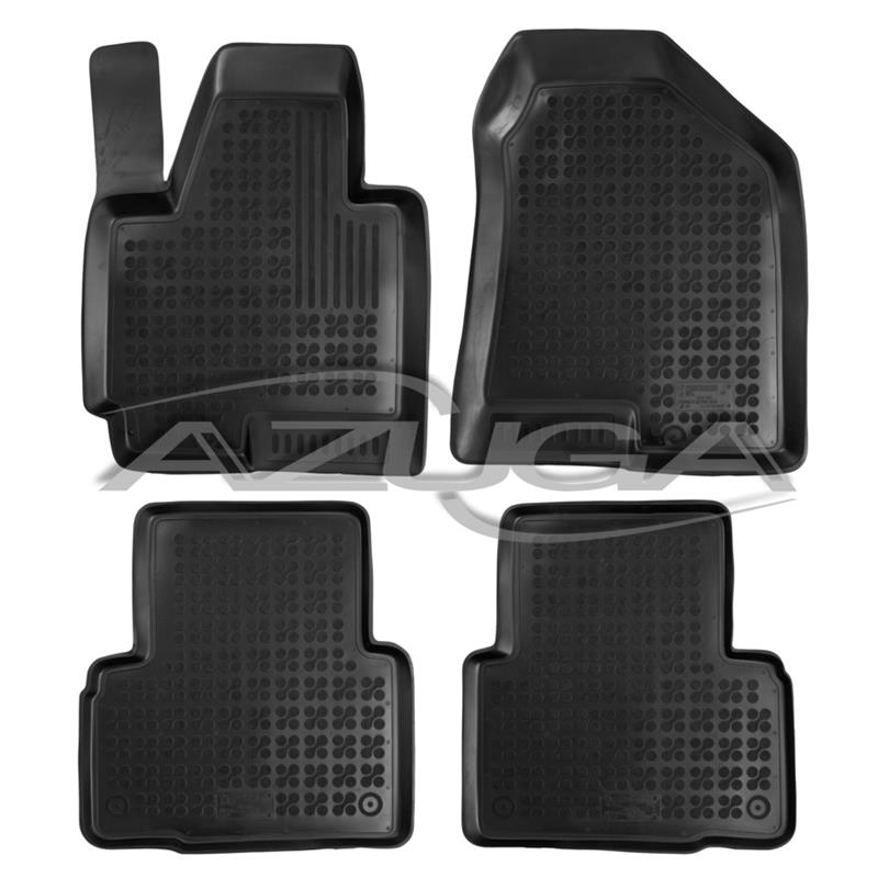 hohe gummi fu matten f r hyundai ix35 ab 2010 4 tlg azuga. Black Bedroom Furniture Sets. Home Design Ideas