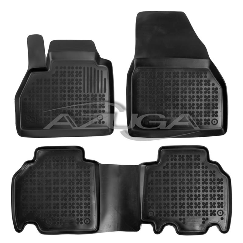 Gummi Fußmatten Gummimatten Auto-matten Set passend für Opel Tigra B 2004-2015