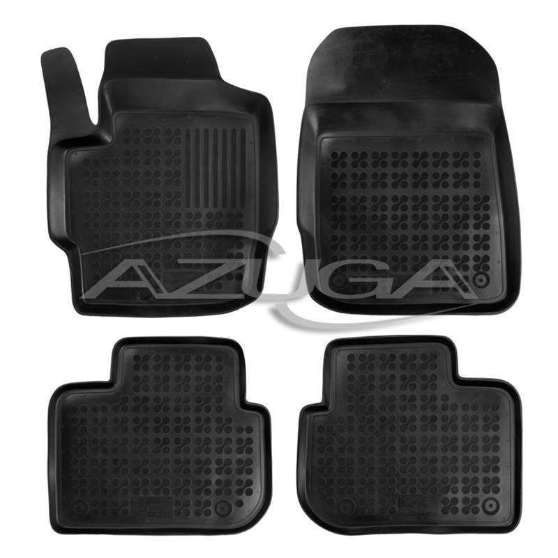 Gummifußmatten für Toyota Aygo 3-türer 4tlg