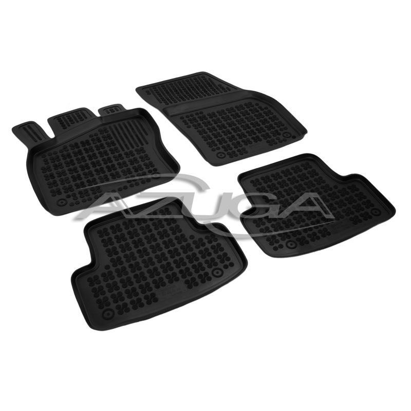 Fußmatten für Toyota Proace ab 2016 Gummi Schwarz Antirutsch Vorne Automatten