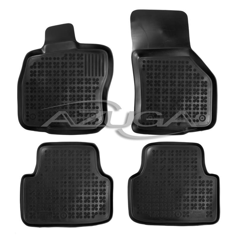 hohe gummi fu matten f r skoda octavia iii 5e ab 2013 4. Black Bedroom Furniture Sets. Home Design Ideas
