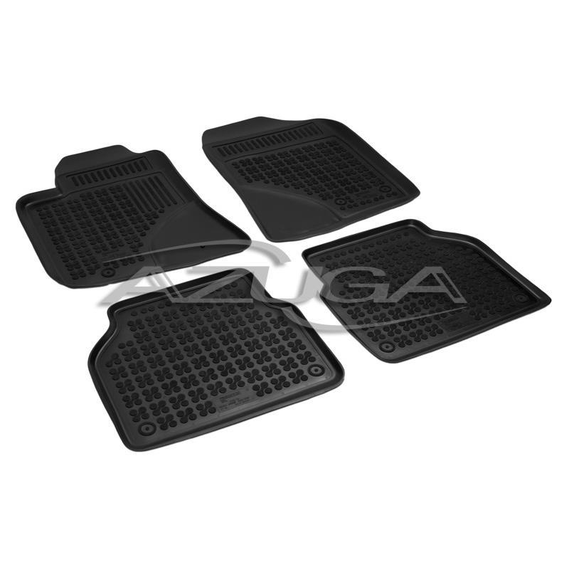 Veloursmatten Textilmatten Fußmatten Automatten 3-tlg für MITSUBISHI PAJERO IV