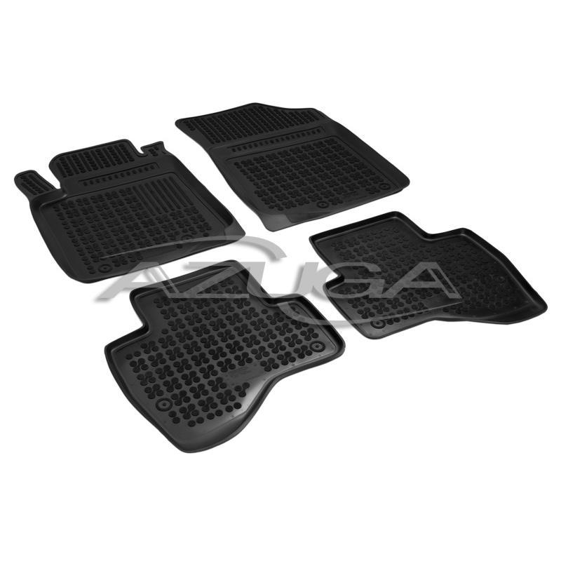 Gummifußmatten für Citroen C1 5-türer 4tlg
