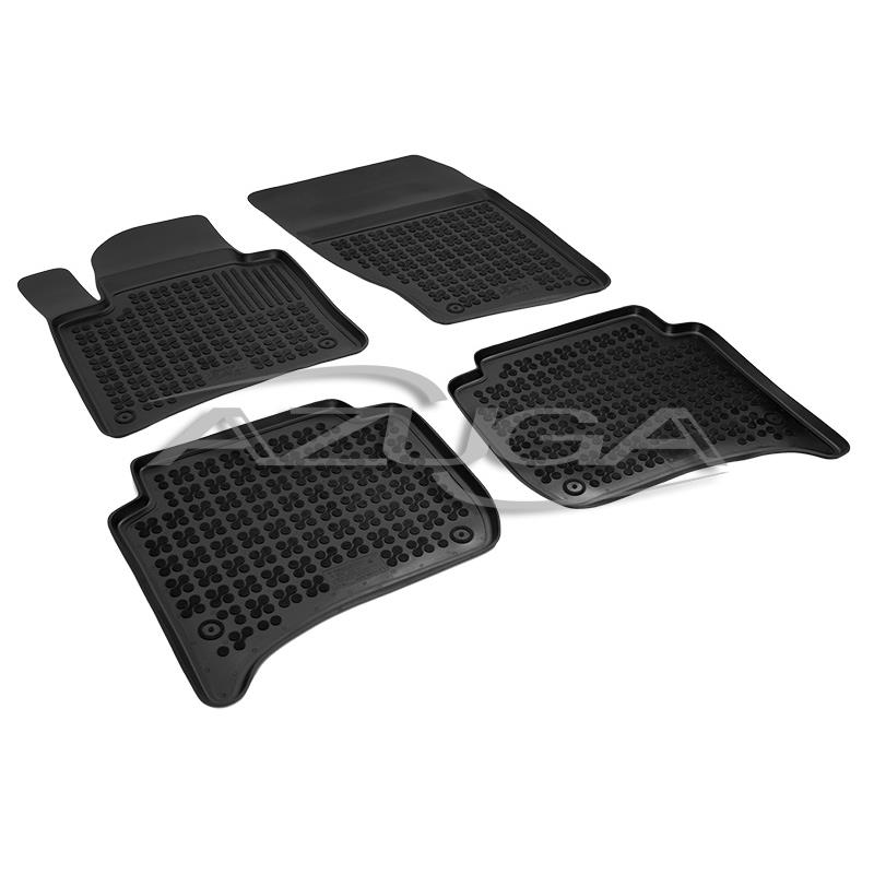 Hohe Gummi-Fußmatten für Porsche Cayenne II/VW Touareg II ab 2010