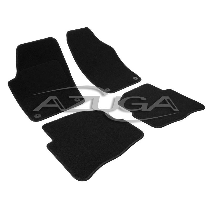 runde Clips Velours-Fußmatten für VW Polo 9N//9N3 2001