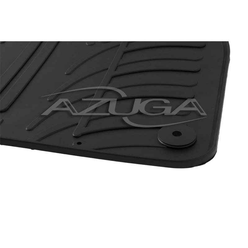 Gummi-Fußmatten für Audi Q7 ab 6/2015 (4M) und Audi Q8 ab 2018