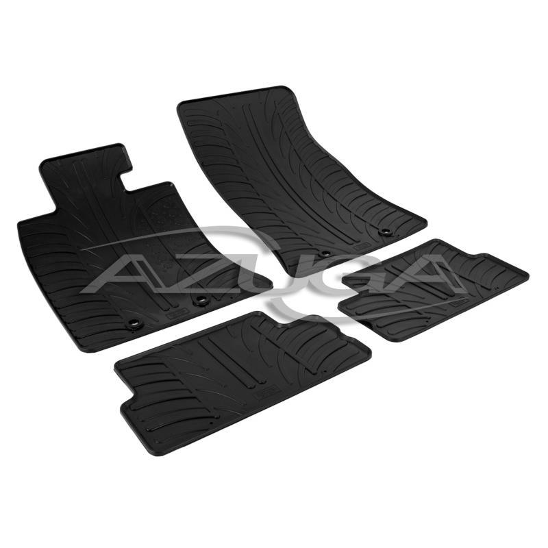 gummi fu matten f r mini one cooper ab 2006 r56 azuga. Black Bedroom Furniture Sets. Home Design Ideas