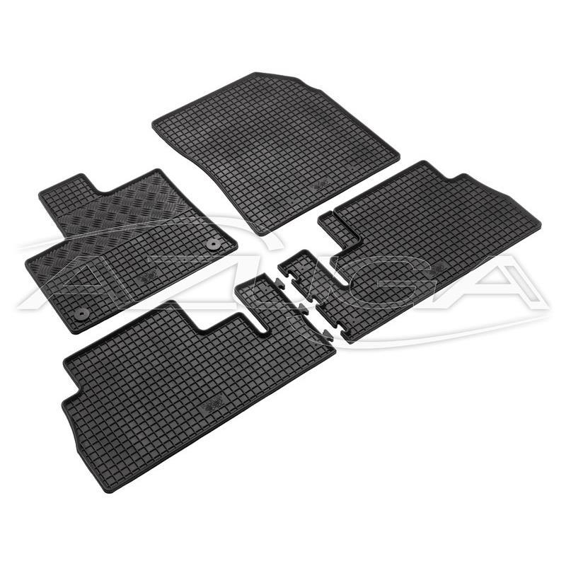 Fußmatten für Citroen Berlingo 2008-2018 3D Passform Automatten Schwarz