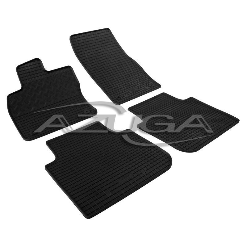 Gummi-Fußmatten für Skoda Kodiaq/VW Tiguan Allspace ab 2017/Seat Tarraco ab 2019