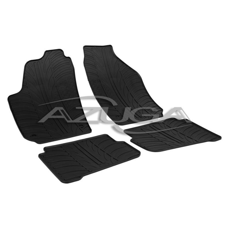 Gummi-Fußmatten für Seat Cordoba/Ibiza (6L) ab 10/2002-2009 / VW Polo (9N/9N3) ab 2002-5/2009