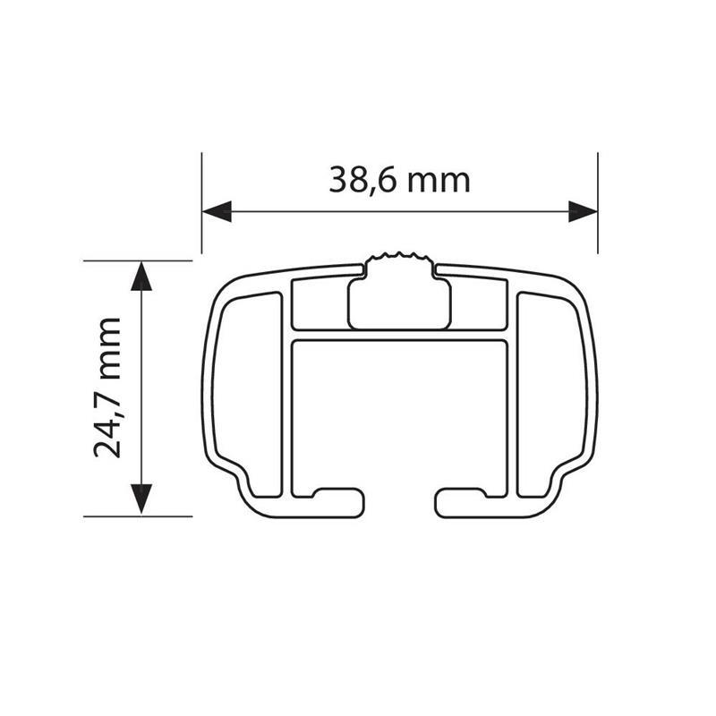 Dachträger für Hyundai i30 CW Kombi ab 6/2012-6/2017 (GD) aus Aluminium