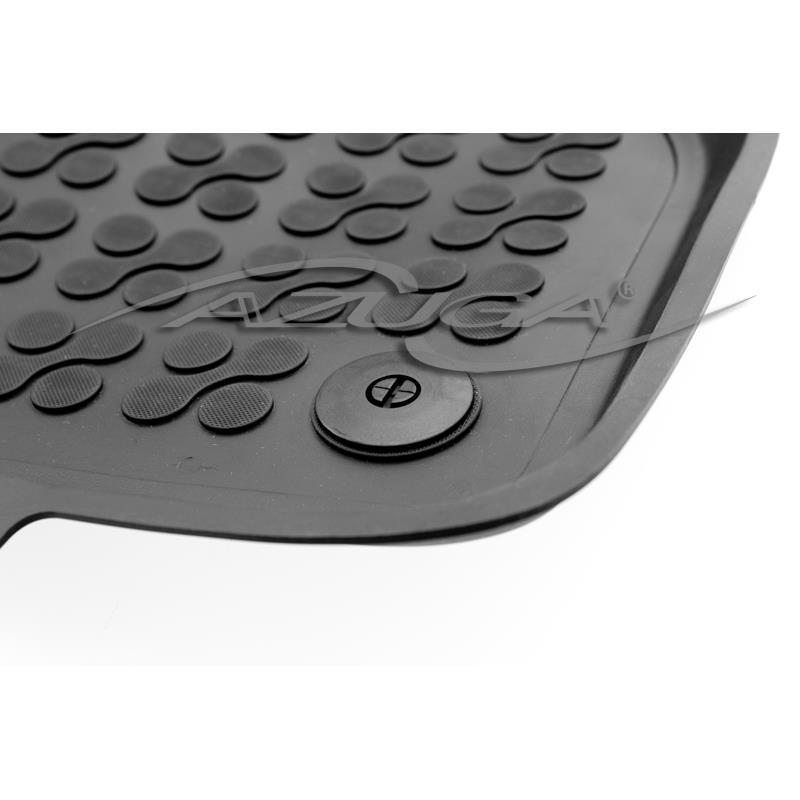 Hohe Gummi-Fußmatten für Audi A3 ab 6/2012/VW Golf 7 ab 11/2012