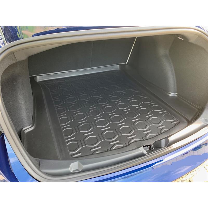 Kofferraumwanne gummiert für Tesla Model 3 Limousine 2017 Kofferraum hinten