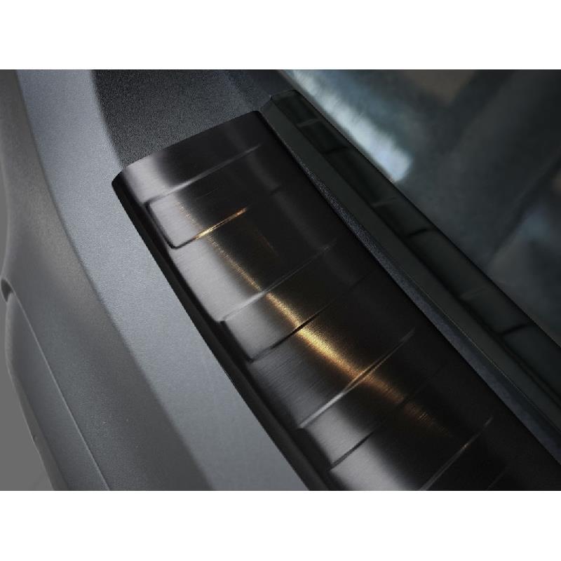 Opel Crossland X ab 2017 3D Edelstahl Ladekantenschutz mit Abkantung
