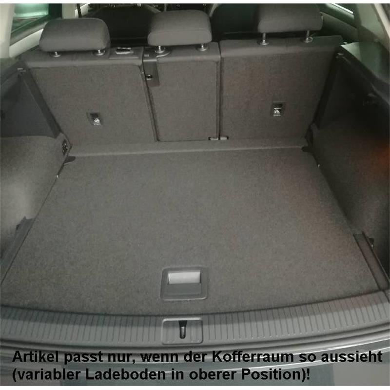 Antirutsch für VW TIGUAN 5N Kofferraumwanne m