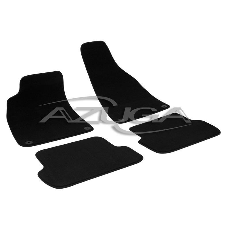 Auto Fußmatten Velours für Audi A4 ab 2001 (8E/B6/B7)
