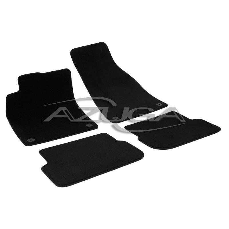Auto Fußmatten Velours für Audi A6 Limousine/Avant ab 2006 (4F)