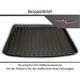 Kofferraumwanne für Renault Captur II ab 2020 (unterer Boden) ohne Anti-Rutsch-Matte