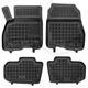 Hohe Gummi-Fußmatten für Nissan Leaf II ab 2018 4-tlg.
