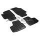 Hohe Gummi-Fußmatten passend für Seat Mii/Skoda Citigo/VW Up ab 2012 4-tlg.