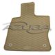 Gummi-Fußmatten für Audi A3 Sportback (8VA)/Seat Leon (5F) ab 2013/VW Golf 7 (beige)