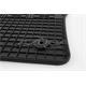Gummi-Fußmatten für VW Caddy ab 2004/Touran ab 2003-8/2015 mit runder Clip-Befestigung