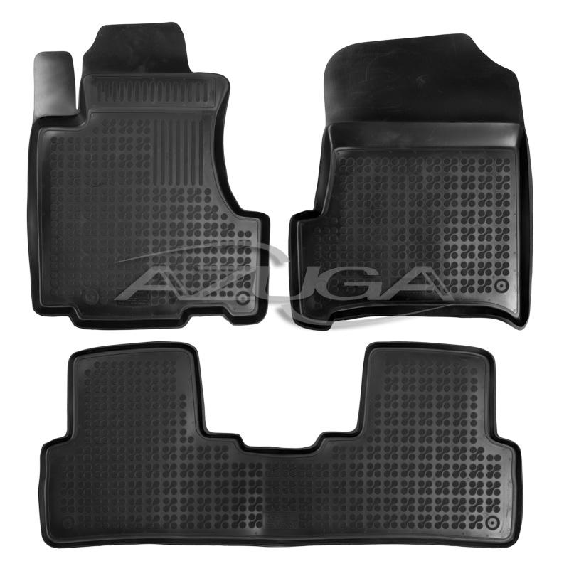 Fußmatten Auto Autoteppich passend für Honda CR-V Manual 2002-2007