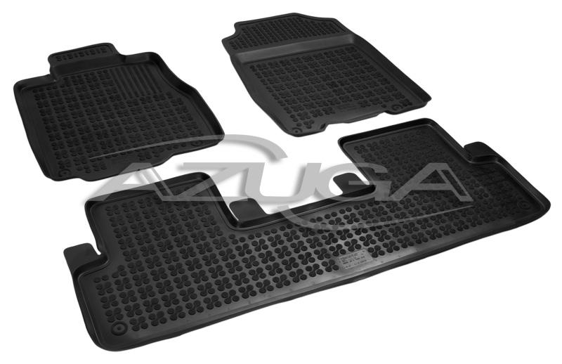 3D Gummi-Fußmatten für Honda CR-V ab 11//2012-10//2018 Hohe Gummimatten Automatten