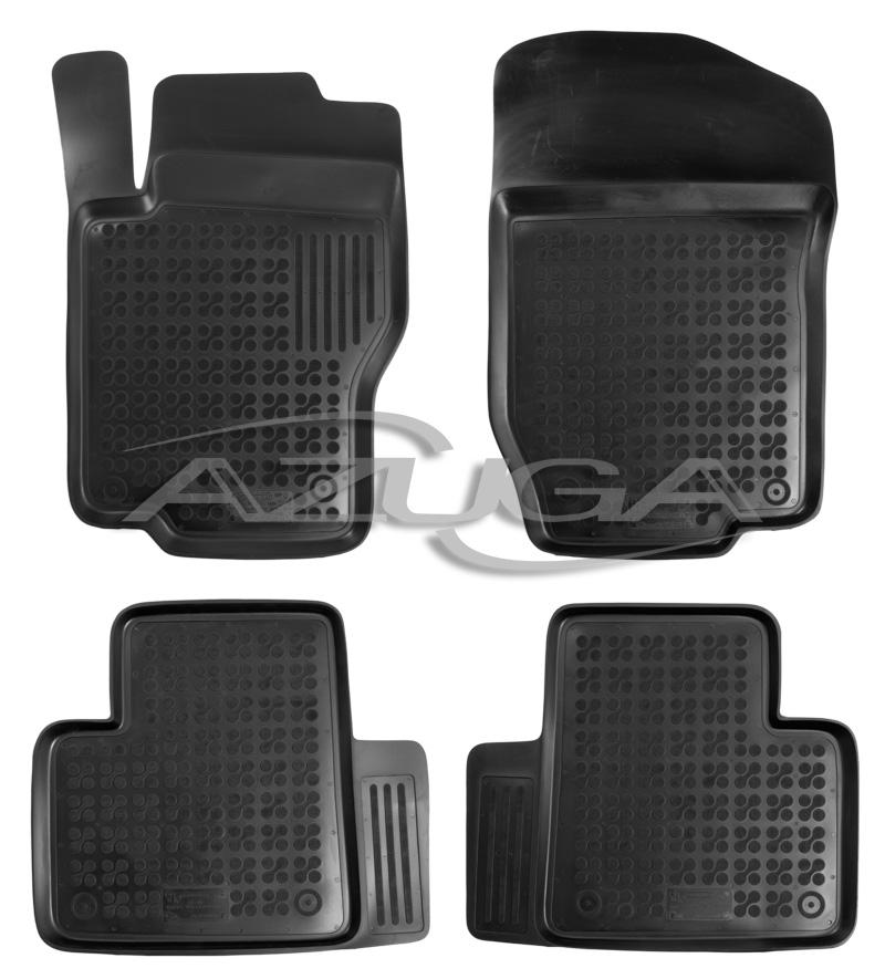 3D Gummi-Fußmatten für Audi Q3 ab 2011 Hohe Gummimatten Automatten