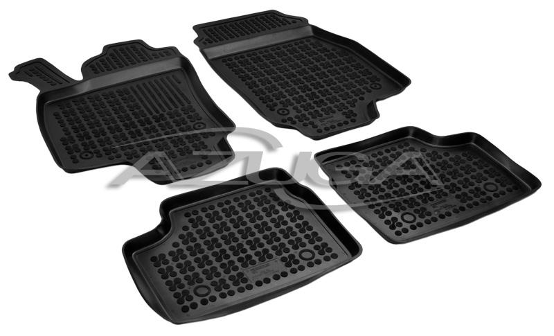 Für Opel Astra H Gummi Fußmatten Hohe 3D Gummimatten Automatten
