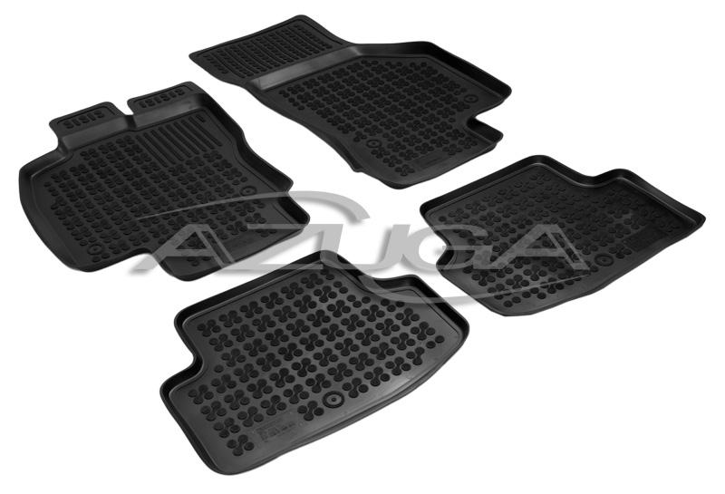 3d gummi fu matten f r seat leon 5f st ab 2013 hohe. Black Bedroom Furniture Sets. Home Design Ideas
