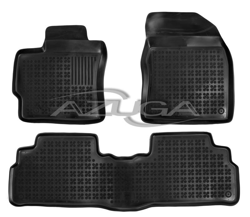 3D Gummi-Fußmatten für DACIA DOKKER 3tlg 2012-heute Gummimatten