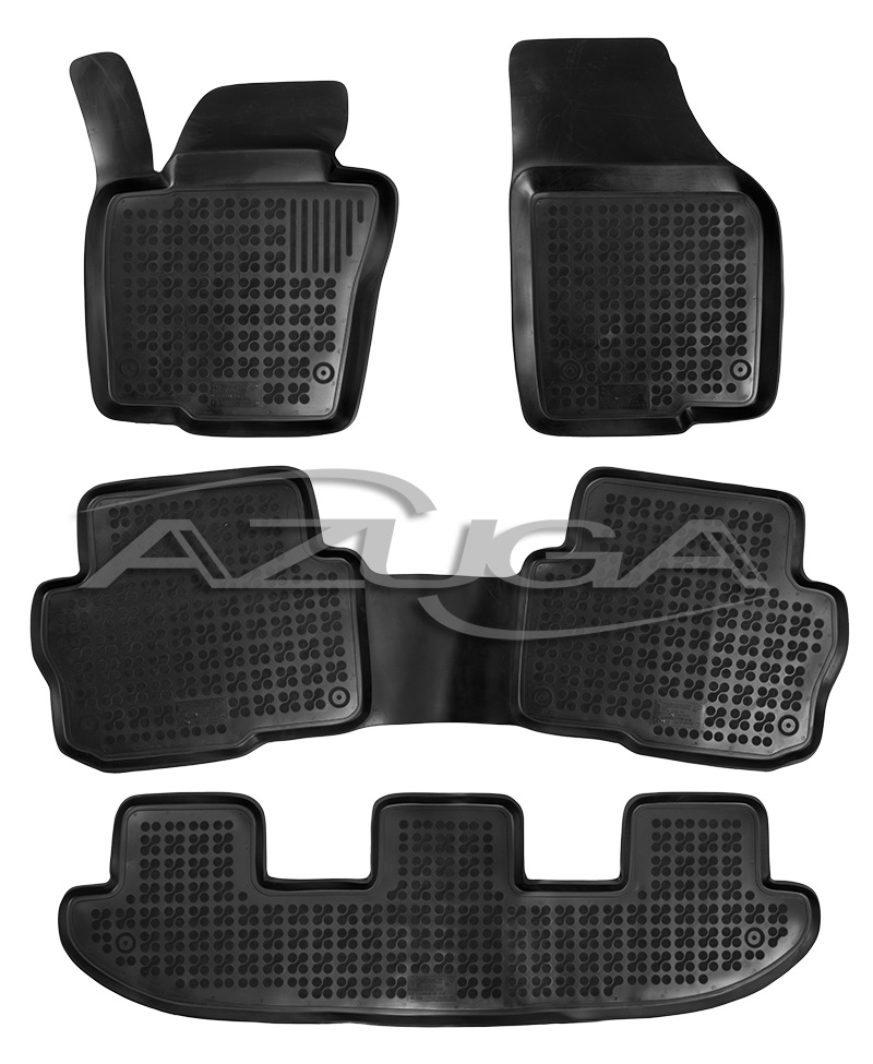 3d gummi fu matten f r vw sharan seat alhambra ab 2010. Black Bedroom Furniture Sets. Home Design Ideas