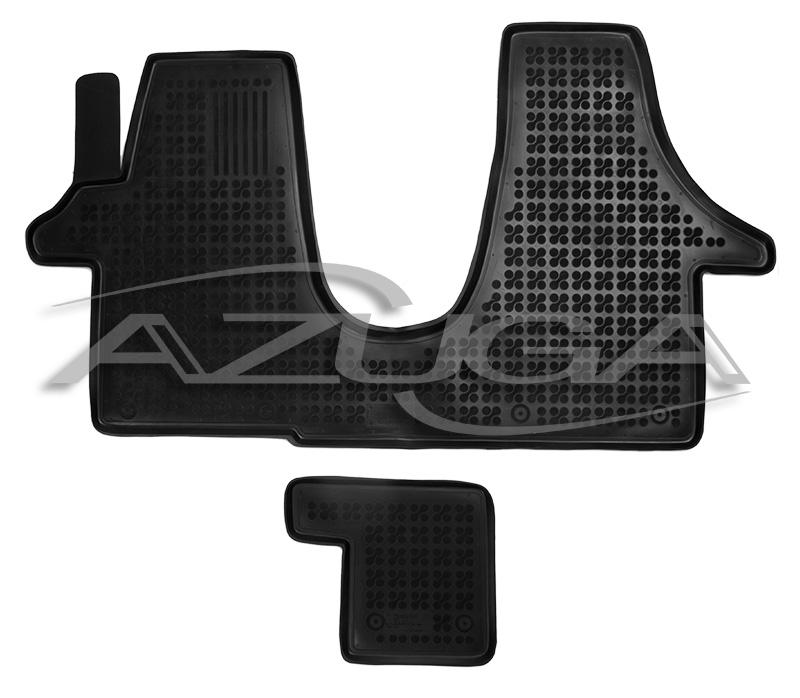 3d gummi fu matten f r vw transporter t5 t6 vorn hohe. Black Bedroom Furniture Sets. Home Design Ideas