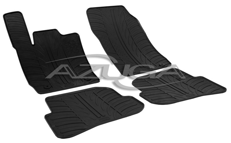 caoutchouc tapis pour audi a1 partir de 2010 en. Black Bedroom Furniture Sets. Home Design Ideas