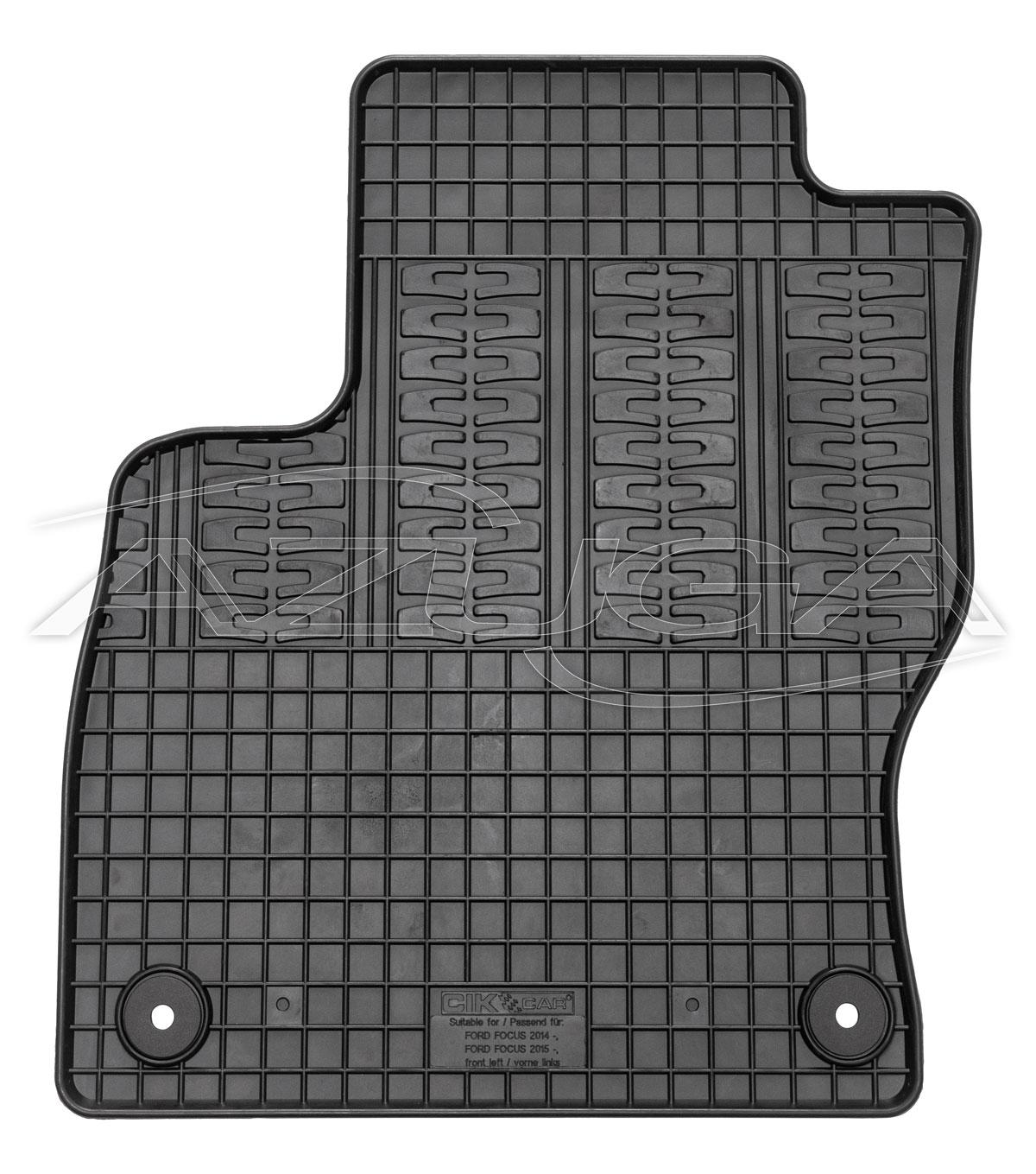 Design 3D TPE Fußraumschalen Fussmatten für Ford Mondeo V Turnier Kombi 2015