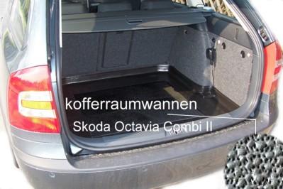 Kofferraumwanne-Skoda-Octavia-II-Combi-Kombi-2005-heute