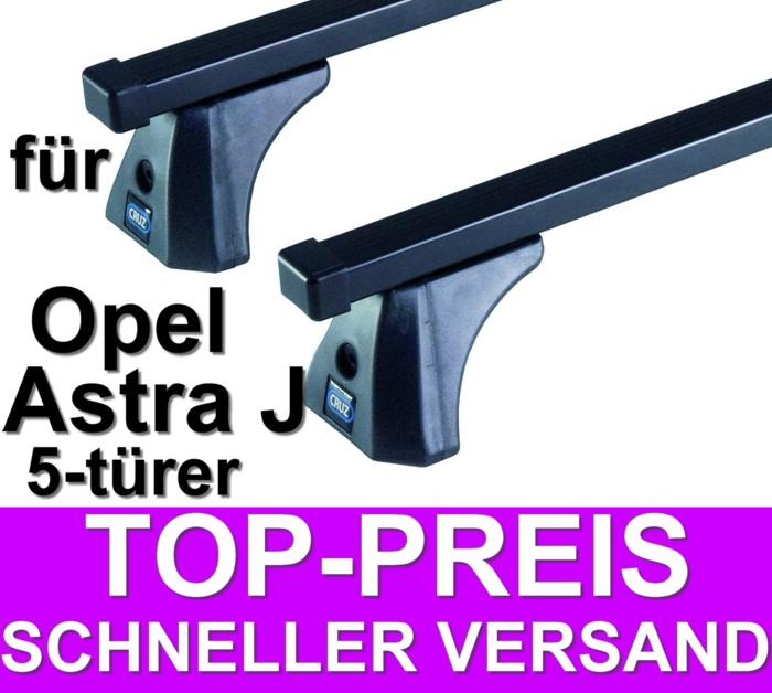 cruz dachtr ger grundtr ger opel astra j 5 t r ab 2010 ebay. Black Bedroom Furniture Sets. Home Design Ideas