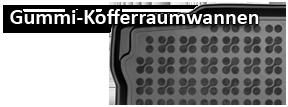 Kofferraum-Gummiwanne