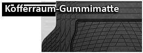 Kofferraum-Gummimatte