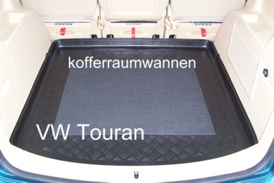 kofferraumwanne f r vw touran alle baujahre g nstig kaufen. Black Bedroom Furniture Sets. Home Design Ideas