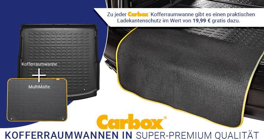 Carbox Kofferraumwanne mit Ladekantenschutz