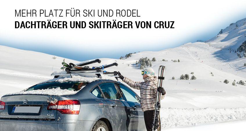 Dachträger und Relingträger von CRUZ